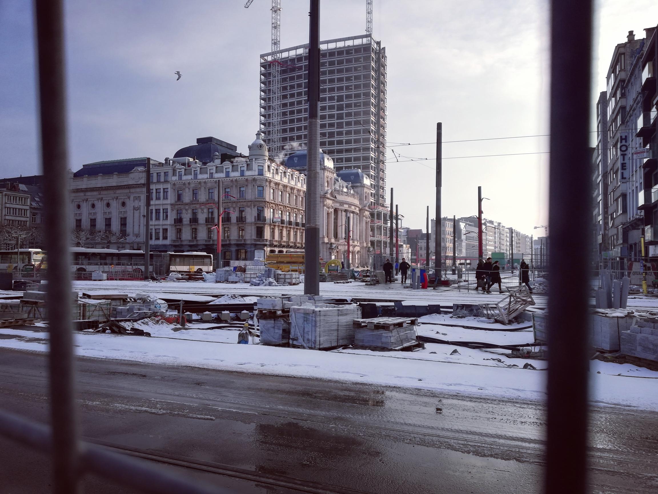 photo du site où travaille le promoteur Noorderlijn