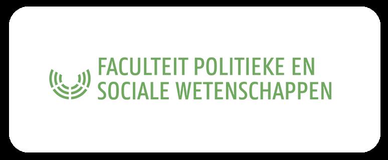 logo faculteit politieke en sociale wetenschappen