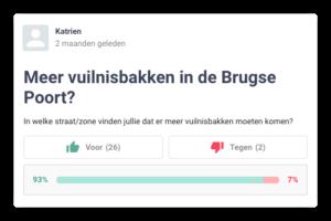 poll op Hoplr