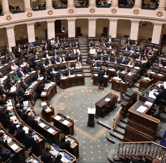 foto van het Vlaams parlement