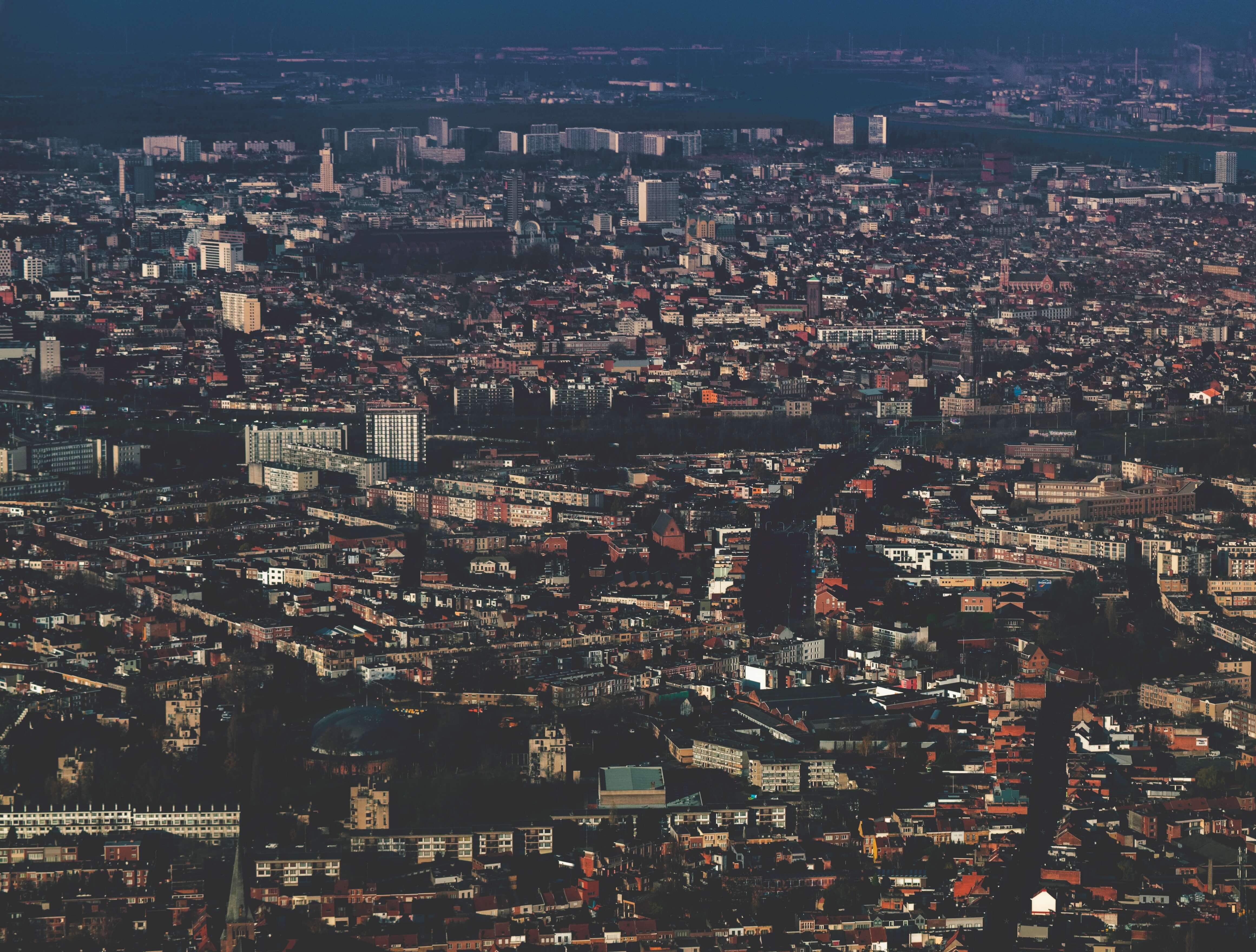 foto van stad Antwerpen