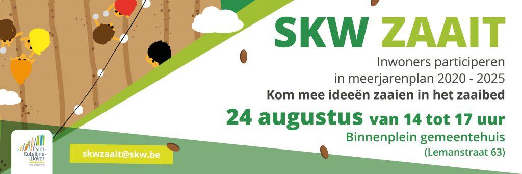 campagnebeeld Sint-Katelijne-Waver zaait: inwoners participeren in meerjarenplan 2020 - 2025